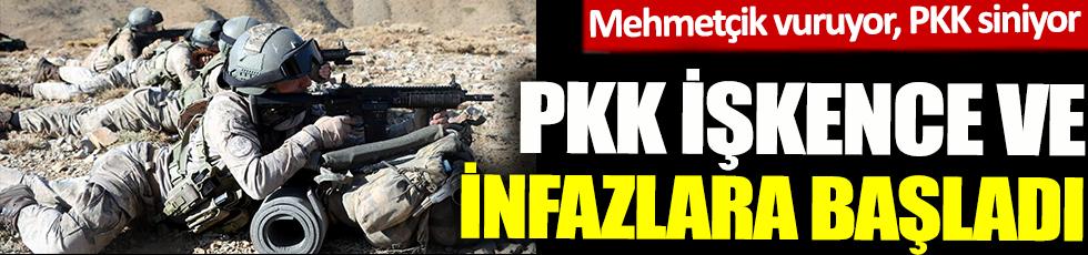 PKK, işkence ve infazlara başladı! Mehmetçik vuruyor PKK siniyor