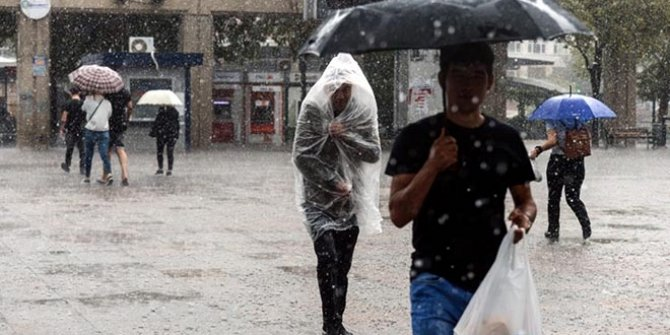 Trabzon, Rize ve Artvin için sağanak uyarısı