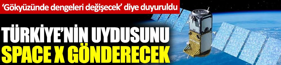 'Gökyüzünde dengeleri değiştirecek' diye duyuruldu: Türkiye'nin uydusunu Space X gönderecek