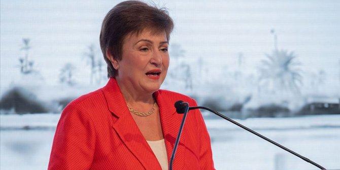 """IMF Başkanı Georgieva'dan """"Yeşil ekonomi"""" vurgusu"""