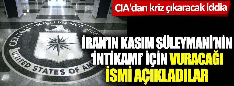 CIA'dan kriz çıkaracak iddia! İran'ın Kasım Süleymani'nin 'intikamı' için vuracağı ismi açıkladılar