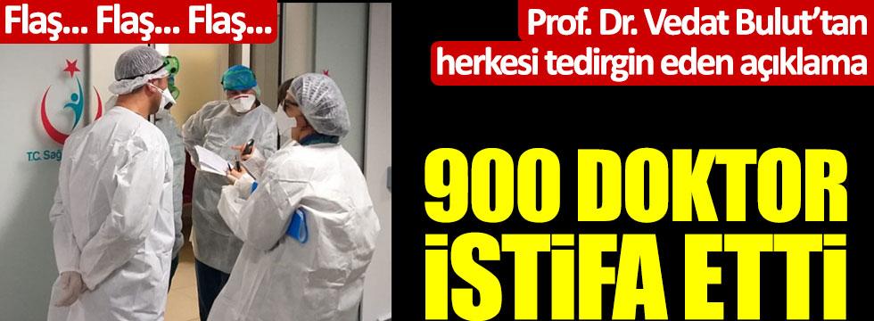 Flaş... Flaş... Flaş... 900 doktor istifa etti