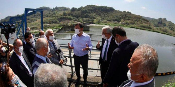Melen Barajı ziyaretinde şok yaşayan İmamoğlu isyan etti