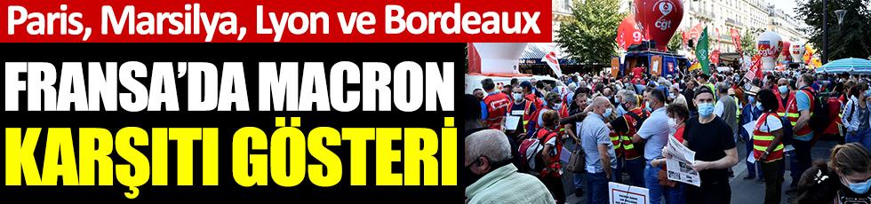 Fransa'da Macron karşıtı gösteri: Paris, Lyon, Marsilya, Bordeaux...