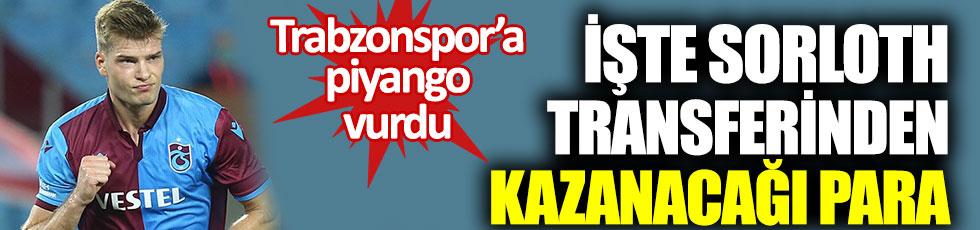 Trabzonspor'a piyango vurdu. İşte Sörloth transferinden kazanacağı para