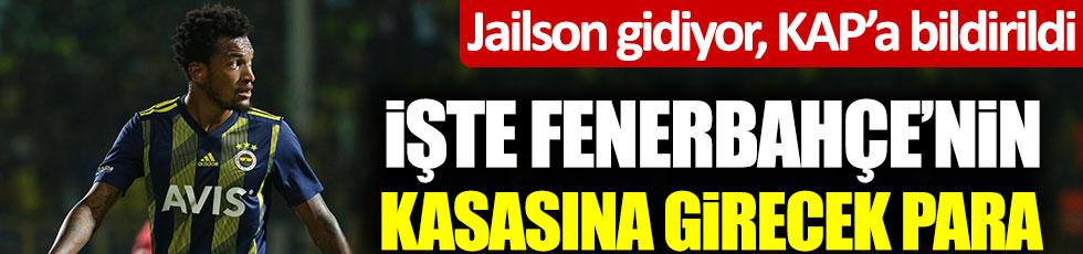 Jailson gidiyor, KAP'a bildirildi! İşte Fenerbahçe'nin kasasına girecek para