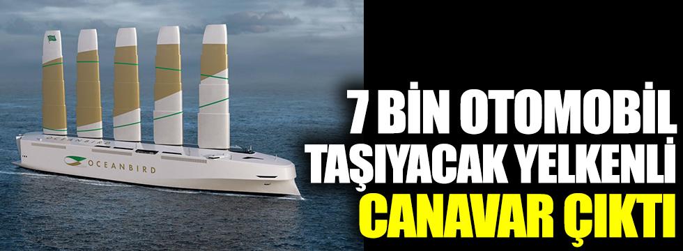 7 bin otomobil taşıyacak yelkenli canavar çıktı