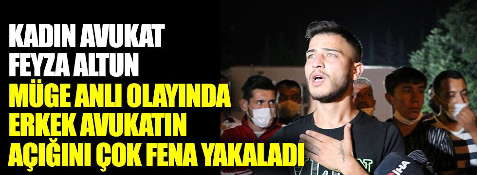 Kadın avukat Feyza Altun, Müge Anlı olayının erkek avukatının açığını çok fena yakaladı