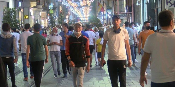 Maskeyi para cezasından kurtulmak için taşıyorlar! Korona virüs resmen kol geziyor! Görüntüler İstanbul'dan