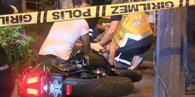 İstanbul'da motosiklet alarmı! Polisten kaçarken kaza yaptılar