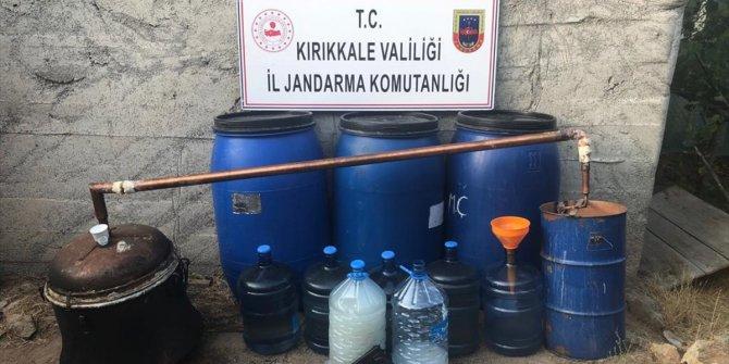 Kırıkkale'de kaçak rakı operasyonu