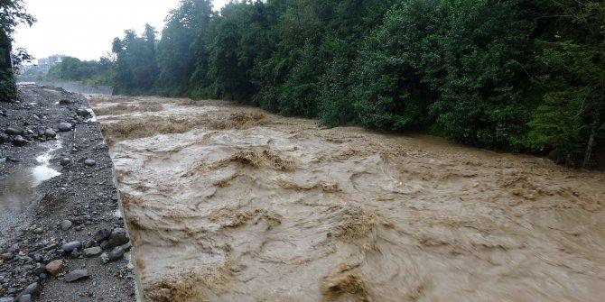 Doğu Karadeniz'de şiddetli yağış