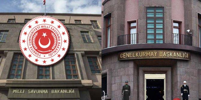MSB: Barış Pınarı harekat bölgesinde 8 PKK'lı etkisiz hale getirildi