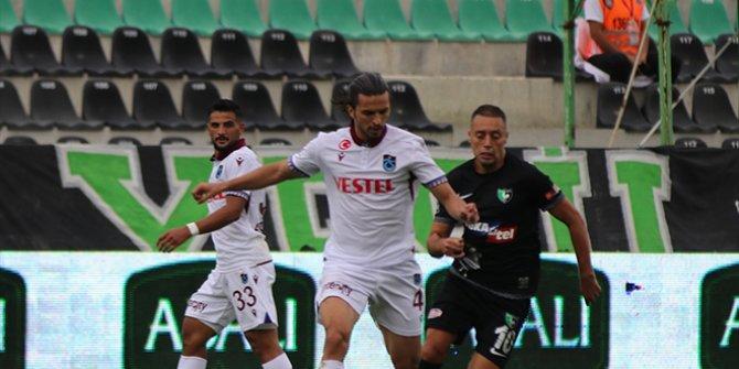 Trabzonspor,Denizli deplasmanından eli boş döndü