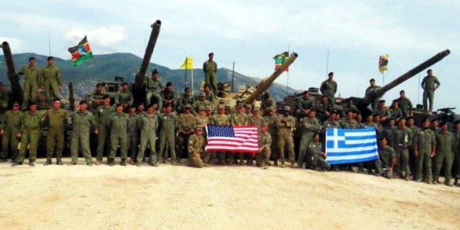 Resmen meydan okudular! ABD ve Yunanistan'dan Türkiye sınırında tatbikat