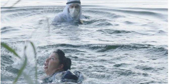 TRT dizisi çekilirken korku dolu anlar: Azmak Nehri'nde boğulma sahnesi çekiyorlardı