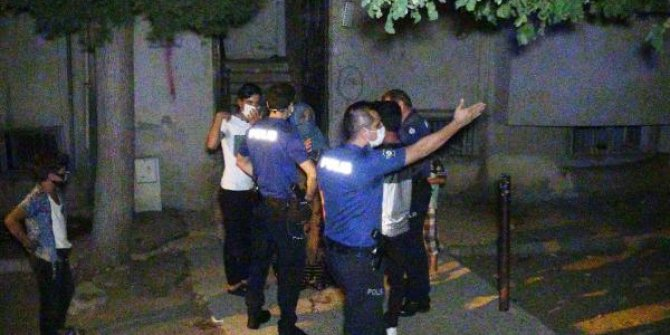 Suriyeli aileler arasında kavga: Polis zor ayırdı