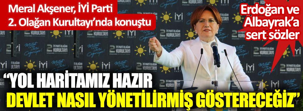 Meral Akşener İYİ Parti 2. Olağan Kurultayı'nda konuştu
