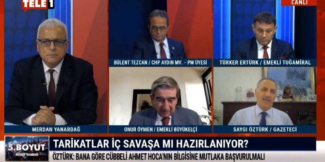 """Saygı Öztürk açıkladı, Cübbeli Ahmet """"Silahlanan derneklerin ismini açıklarım"""" dedi Savcılara seslendi"""