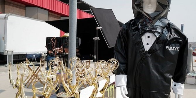 Emmy Ödülleri töreninde salgın önlemi