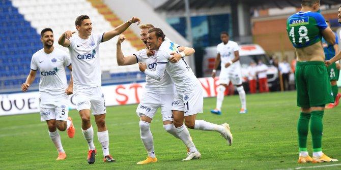 Kasımpaşa, Çaykur Rizespor'u iki farkla geçti