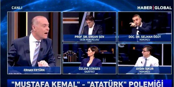 Canlı yayında 'Kemalizm' tartışması: Selman Öğüt stüdyoyu terk etti