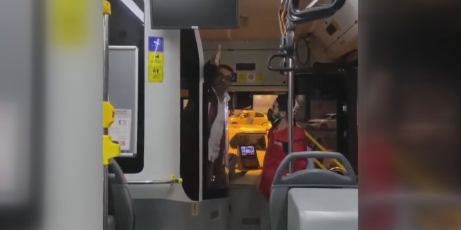 Halk otobüsü şoförü 'pis sarhoşlar' dediği kadın yolcuya saldırdı. Bunu da yaptılar