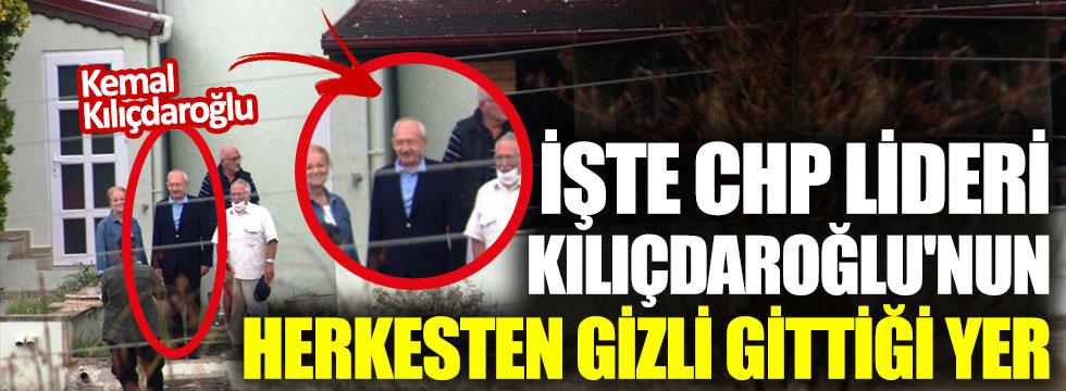 İşte CHP lideri Kemal Kılıçdaroğlu'nun herkesten gizli gittiği yer