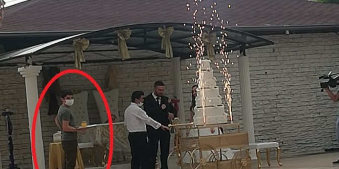 Korona olduğunu bile bile düğünde çalışmaya devam etti: Bu kadarına da pes artık