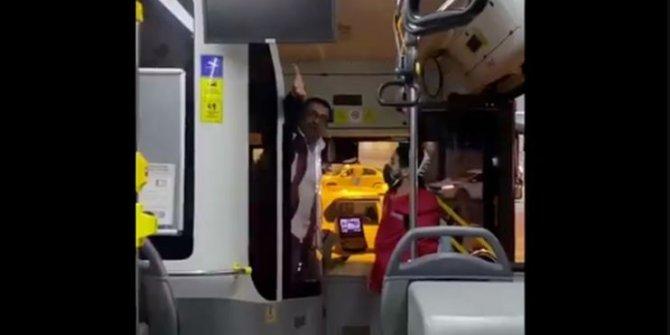 Pis sarhoşlar diyerek kadın yolcuya saldıran halk otobüsü şoförü hakkında flaş gelişme