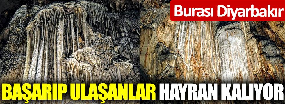 Burası Diyarbakır! Başarıp ulaşanlar hayran kalıyor