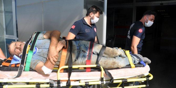 İnşaatta 5 metreden düşen işçi yaralandı