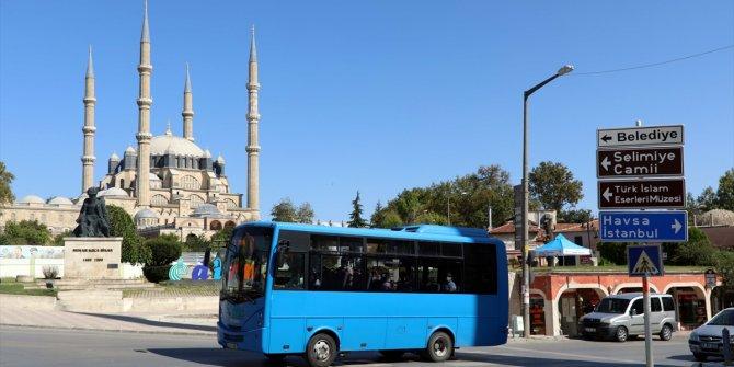 Edirne'de 65 yaş ve üzerine toplu ulaşımda kısıtlama