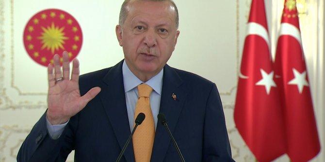 Erdoğan'ın mesajı BM Genel Kurulu'nda yayınlandı