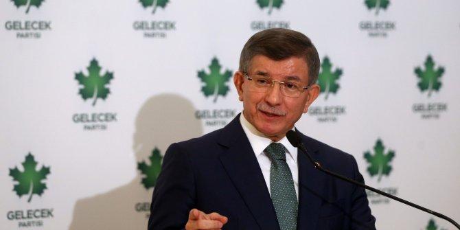 Gelecek Partisi Genel Başkanı Davutoğlu'ndan Cumhurbaşkanlığı adaylığı açıklaması