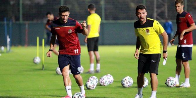 Alanyaspor'da Rosenborg maçı hazırlıkları sürüyor