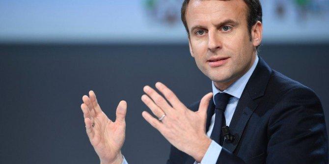 Macron: Türkiye'ye saygı duyuyoruz