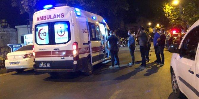 """Kahramanmaraş'ta motosiklet sürücüsü """"dur"""" ihtarına uymadı! Polise çarptı yine kaçtı"""