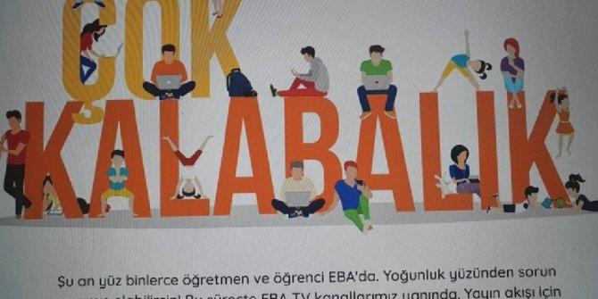 EBA neden çöktü? Milli Eğitim Bakanlığı'ndan çok önemli açıklama
