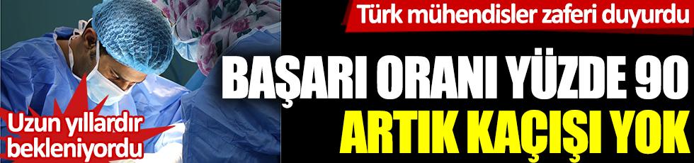 Türk mühendisler zaferi duyurdu: Başarı oranı yüzde 90, artık kaçamaz: Uzun yıllardır bekleniyordu
