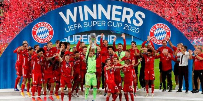 Süper Kupa Bayern Münih'in! 2. kez kupayı müzesine götürdü