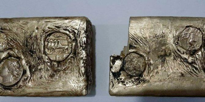 Muş'ta tarihi eser operasyonu! Antik Yunan dönemine ait külçe altınlar ele geçirildi