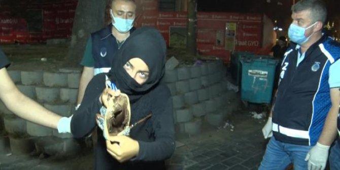 Suriyeli dilencinin fıkra gibi sözleri zabıtaya pes dedirtti. Burası İstanbul'un göbeği