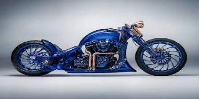 Harley Davidson çekiliyor