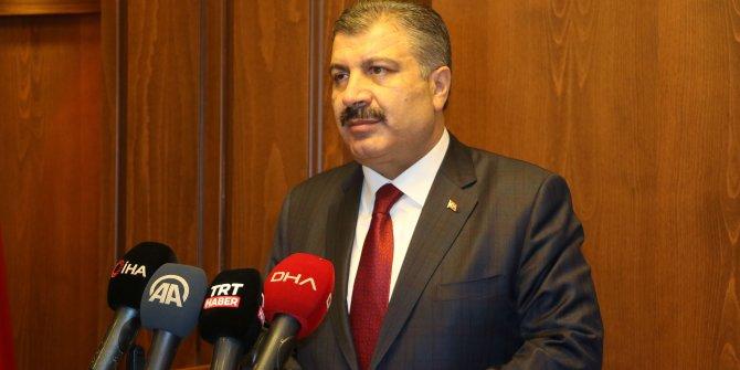 Hastalık zirvede sayılar rekor kırdı Sağlık Bakanı Fahrettin Koca virüsle mücadelede nihai kararı açıkladı
