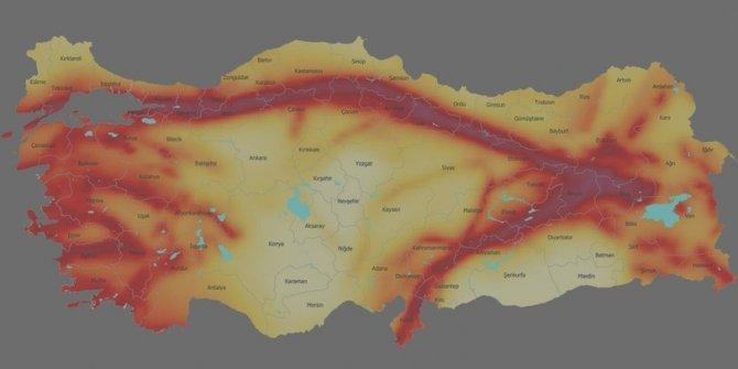 İstanbul'un deprem haritası (İstanbul'da hangi bölgeler riskli)