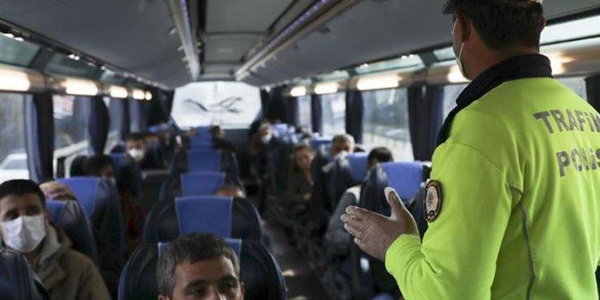 Otobüse men cezası