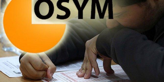 ÖSYM'den 2020-YDS adaylarına 'saat' uyarısı