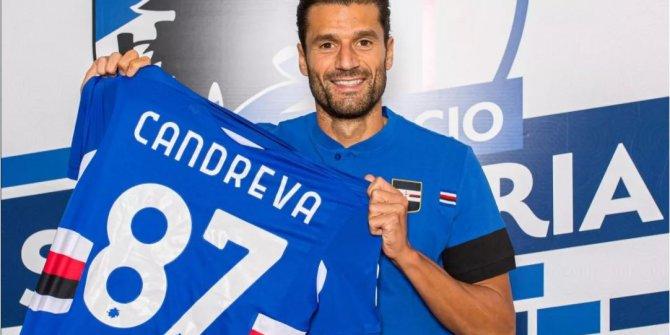 Antonio Candreva Sampdoria'da