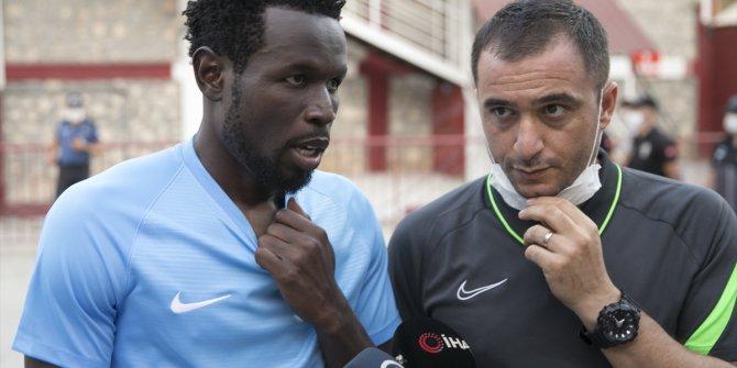 Hatayspor'un yıldızı Diouf duygularını anlattı
